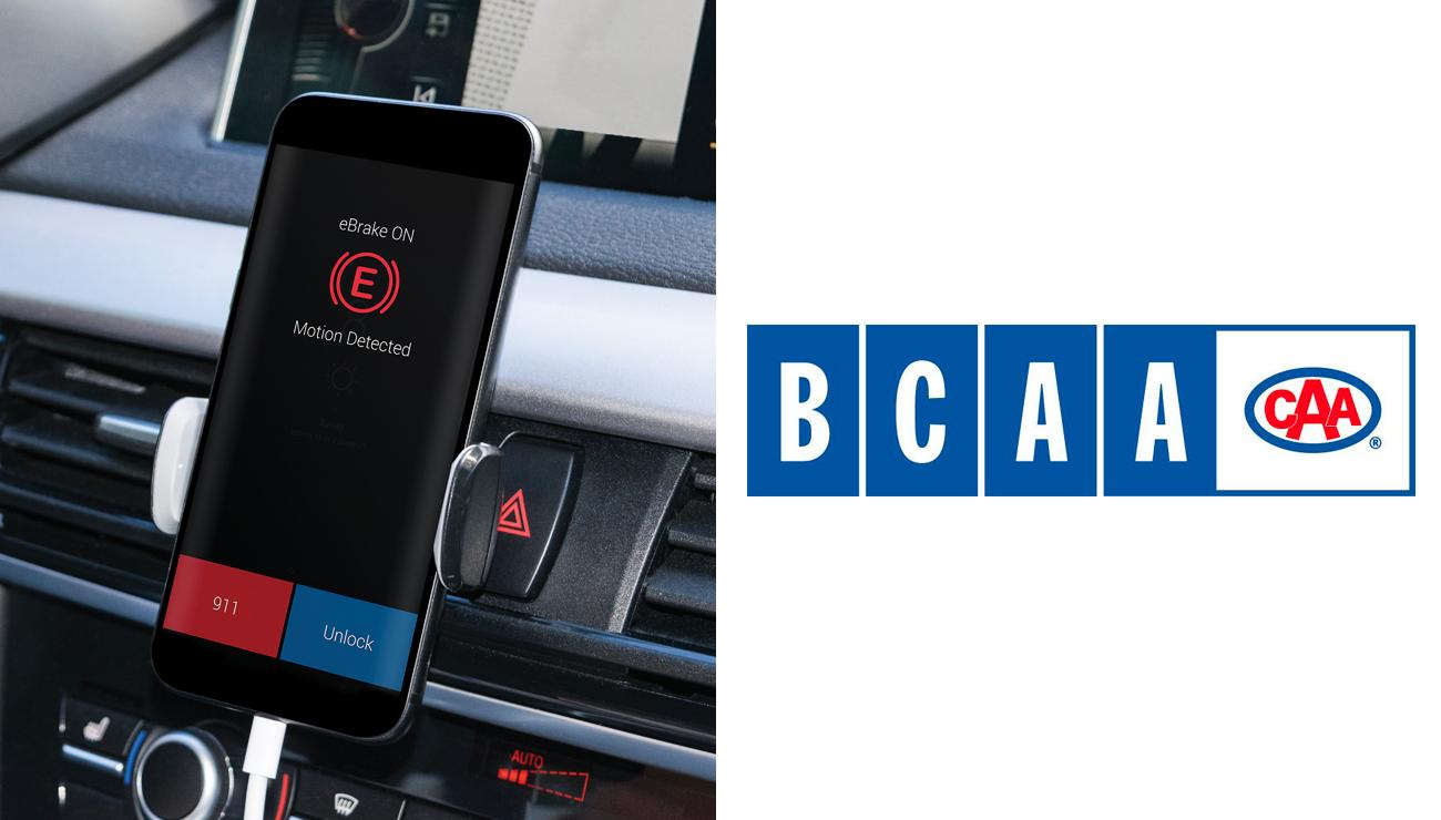 eBrakeが安全運転促進のためにBCAA Roadside Assitance Fleetとパートナーシップを締結