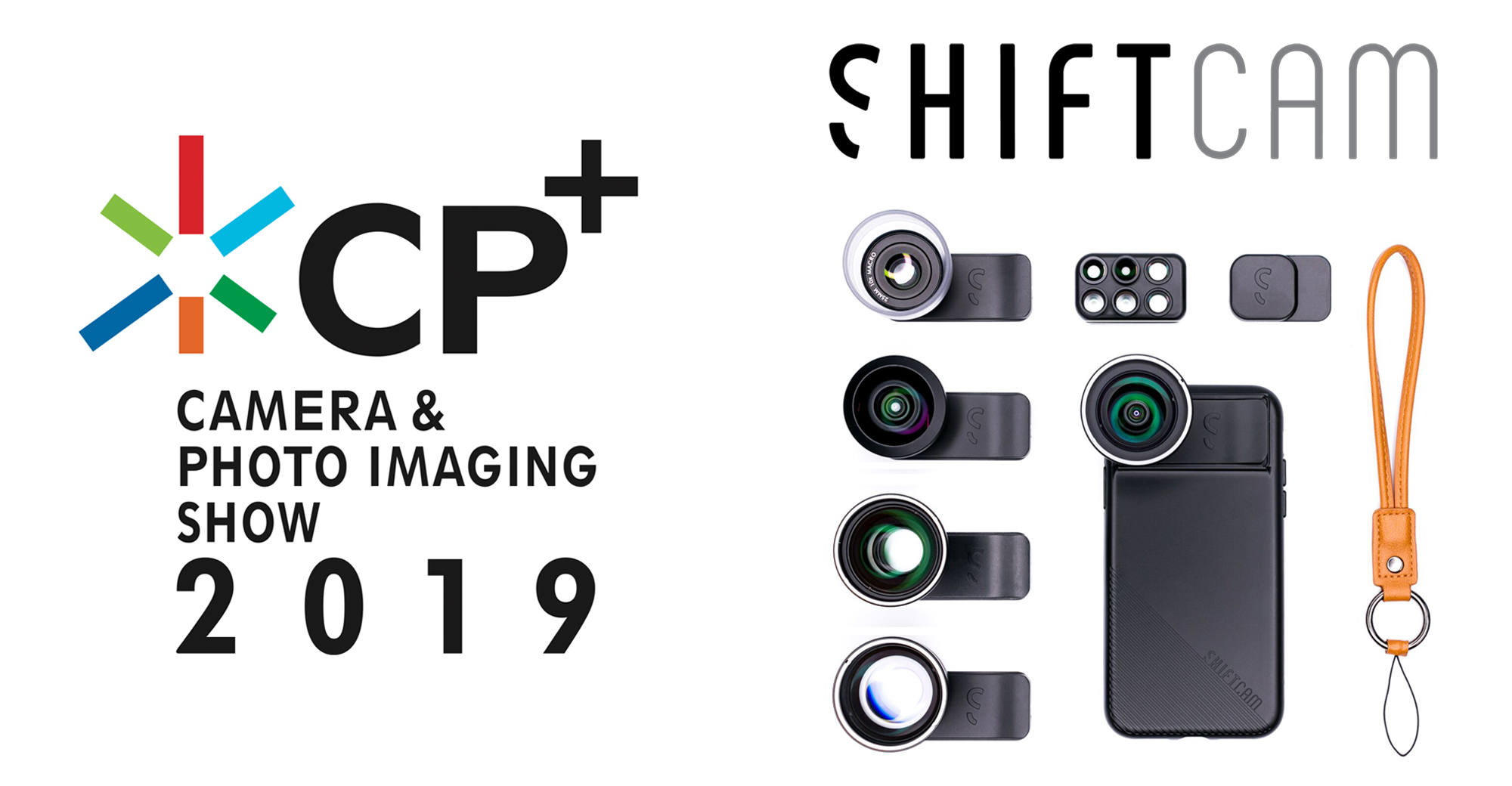 ShiftCamが「CP+(シーピープラス)2019」に展示ブースを出展